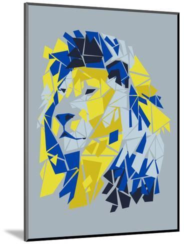 Broken Lion--Mounted Art Print