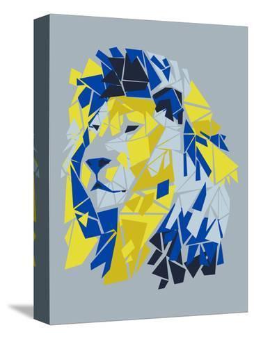 Broken Lion--Stretched Canvas Print