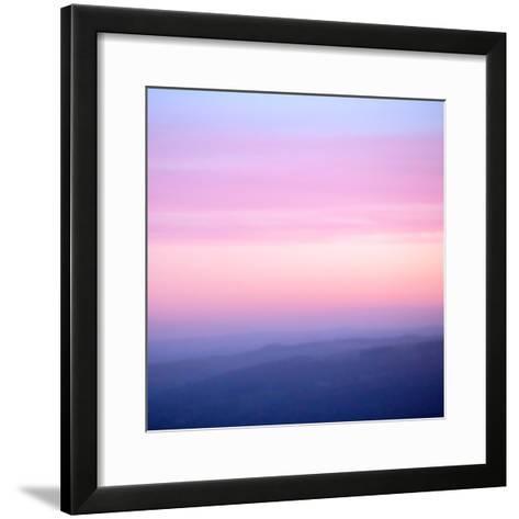 Pink Dusk III-Doug Chinnery-Framed Art Print