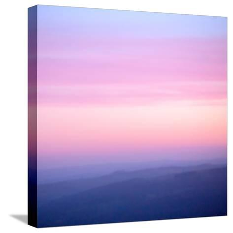 Pink Dusk III-Doug Chinnery-Stretched Canvas Print
