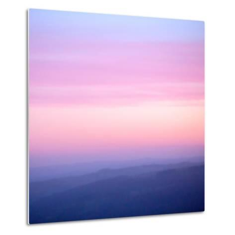 Pink Dusk III-Doug Chinnery-Metal Print