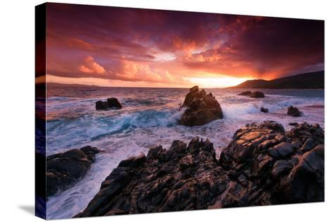 Corsica Always on My Mind-Philippe Sainte-Laudy-Stretched Canvas Print