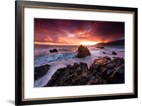 Corsica Always on My Mind-Philippe Sainte-Laudy-Framed Art Print