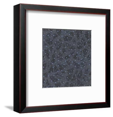 Multiple Patterns of Simple Petals and Circles--Framed Art Print