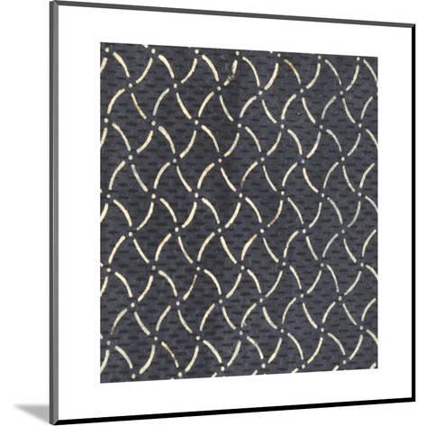 Illustrations of Curvy Diamonds and Dots Patterns--Mounted Art Print