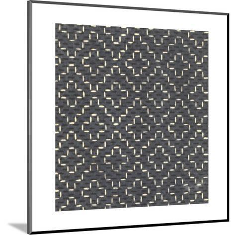Illustrations of Stylized Crosses and Stars with Dots--Mounted Art Print