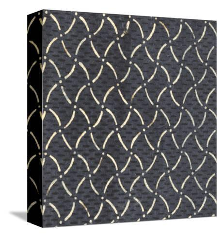 Illustrations of Curved and Dashed Lines with Dots and Stripes--Stretched Canvas Print