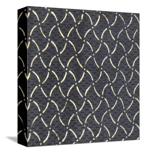 Illustrations of Curvy Diamonds and Dots Patterns--Stretched Canvas Print