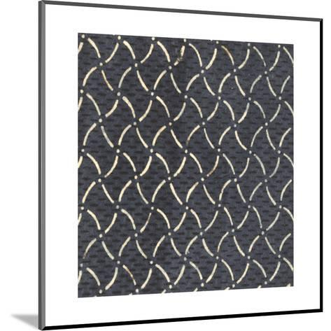 Illustrations of Curved and Dashed Lines with Dots and Stripes--Mounted Art Print