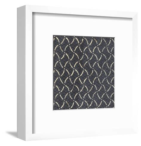 Illustrations of Curved and Dashed Lines with Dots and Stripes--Framed Art Print