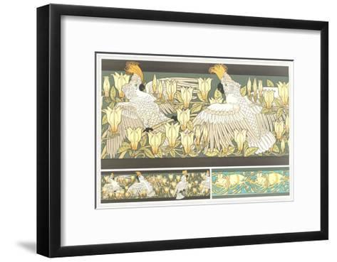 Multiple Animal and Floral Borders--Framed Art Print