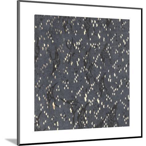 Illustrations of Geometric Patterns and Irregular Dots--Mounted Art Print