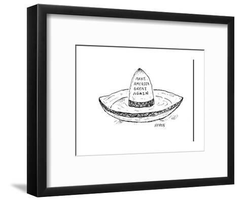 """Make America Great Again."" - Cartoon-David Sipress-Framed Art Print"