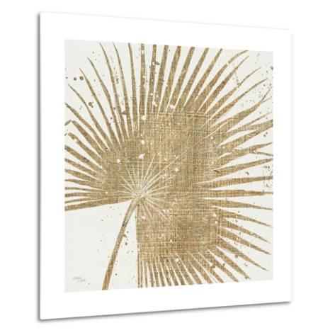 Gold Leaves II-Jim Wellington-Metal Print