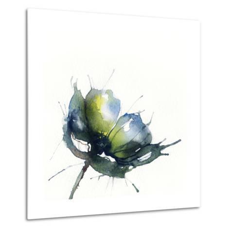 Flowers, Watercolor Illustration-Anna Ismagilova-Metal Print