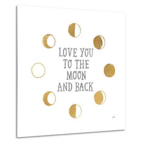 To the Moon-Moira Hershey-Metal Print