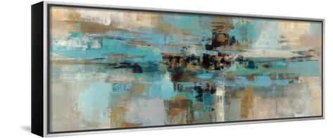 Morning Fjord-Silvia Vassileva-Framed Canvas Print