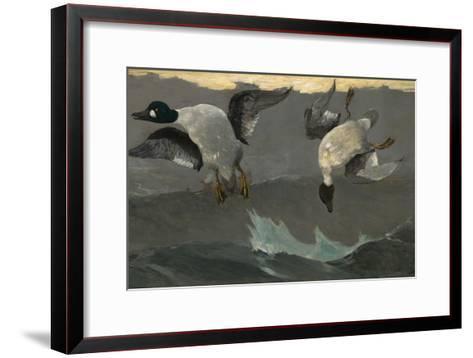 Right and Left, 1909-Winslow Homer-Framed Art Print