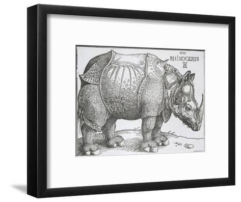Rhinoceros, 1515-Albrecht Durer-Framed Art Print