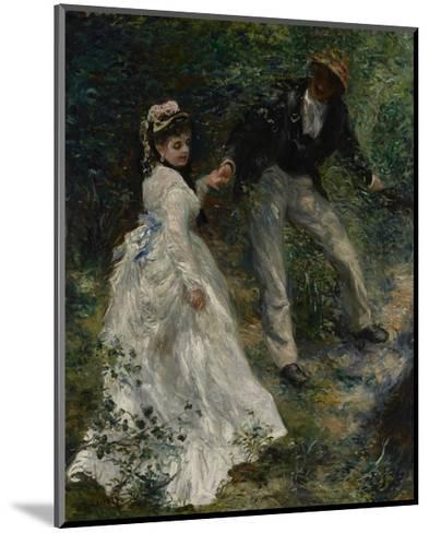 La Promenade, 1870-Pierre-Auguste Renoir-Mounted Giclee Print