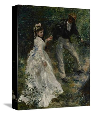 La Promenade, 1870-Pierre-Auguste Renoir-Stretched Canvas Print