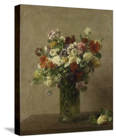 Flowers from Normandy, 1887-Henri Fantin-Latour-Stretched Canvas Print