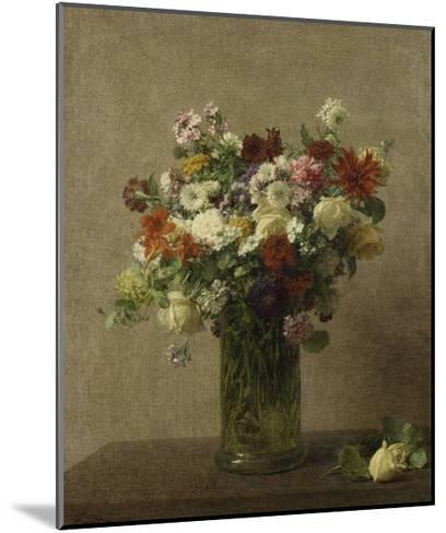 Flowers from Normandy, 1887-Henri Fantin-Latour-Mounted Giclee Print