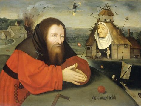 Temptation of St. Anthony, C. 1530-1600-Heronimus Bosch-Stretched Canvas Print