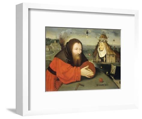 Temptation of St. Anthony, C. 1530-1600-Heronimus Bosch-Framed Art Print