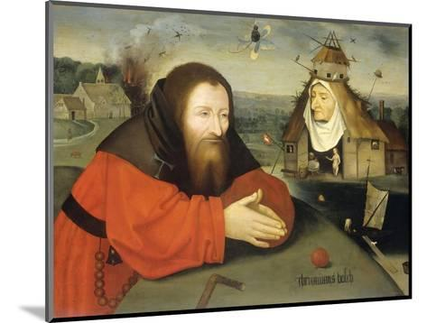 Temptation of St. Anthony, C. 1530-1600-Heronimus Bosch-Mounted Giclee Print