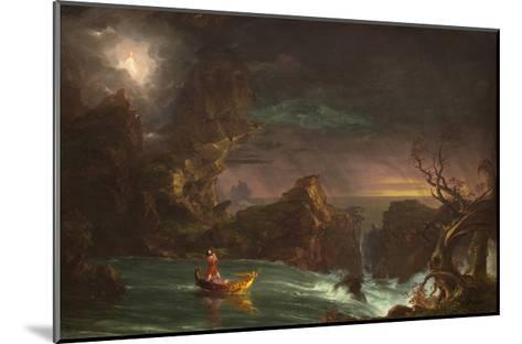 The Voyage of Manhood: Manhood, 1842-Thomas Cole-Mounted Giclee Print