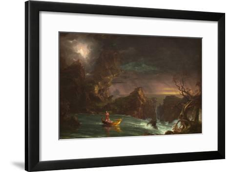 The Voyage of Manhood: Manhood, 1842-Thomas Cole-Framed Art Print