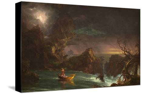 The Voyage of Manhood: Manhood, 1842-Thomas Cole-Stretched Canvas Print