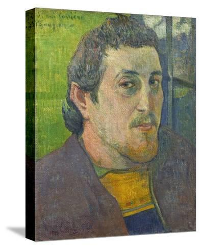 Self-Portrait Dedicated to Carriere, 1888-89-Paul Gauguin-Stretched Canvas Print