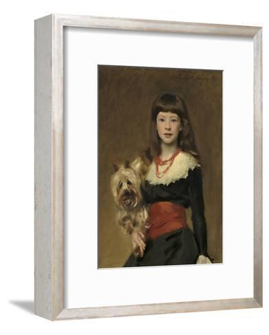 Miss Beatrice Townsend, 1882-John Singer Sargent-Framed Art Print