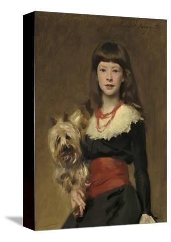 Miss Beatrice Townsend, 1882-John Singer Sargent-Stretched Canvas Print