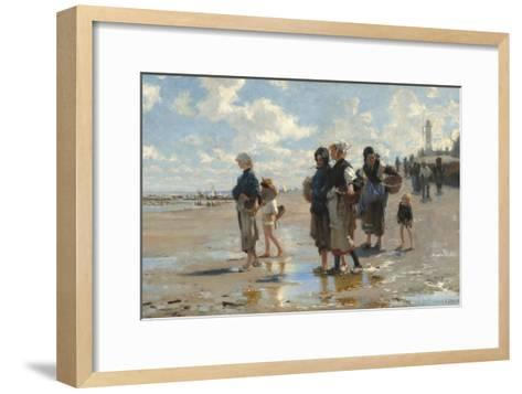 Setting Out to Fish, 1878-John Singer Sargent-Framed Art Print