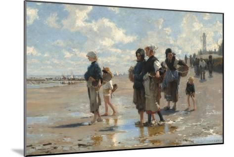 Setting Out to Fish, 1878-John Singer Sargent-Mounted Giclee Print