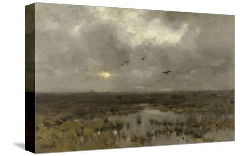 The Marsh, C. 1885-88-Anton Mauve-Stretched Canvas Print