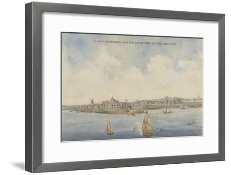 New Amsterdam, C. 1660--Framed Art Print