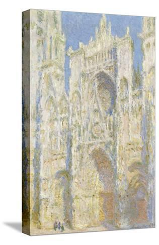 Rouen Cathedral, West Facade, Sunlight, 1894-Claude Monet-Stretched Canvas Print