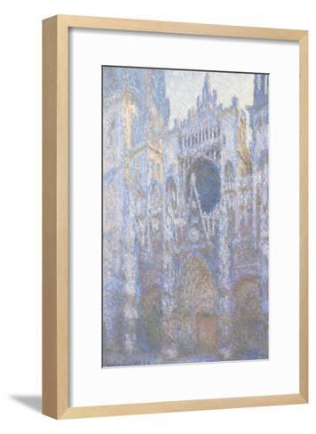 Rouen Cathedral, West Facade, 1894-Claude Monet-Framed Art Print