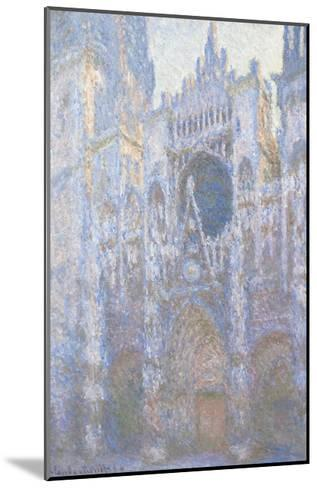 Rouen Cathedral, West Facade, 1894-Claude Monet-Mounted Giclee Print