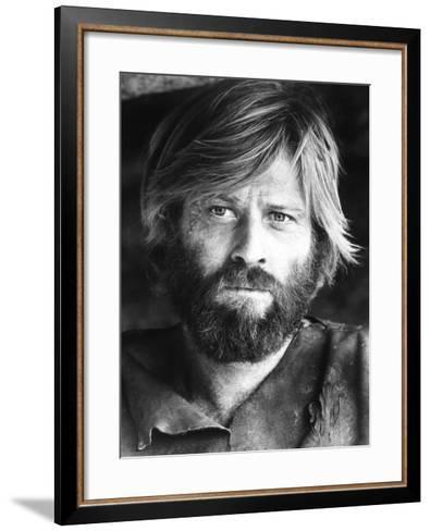 Jeremiah Johnson, Robert Redford, 1972--Framed Art Print