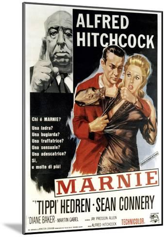 Marnie, Director Alfred Hitchcock, Sean Connery, Tippi Hedren, 1964--Mounted Giclee Print