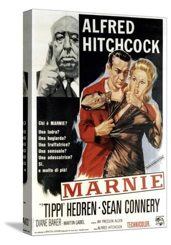 Marnie, Director Alfred Hitchcock, Sean Connery, Tippi Hedren, 1964--Stretched Canvas Print