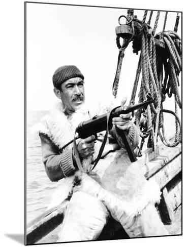 The Guns of Navarone, Anthony Quinn, 1961--Mounted Photo