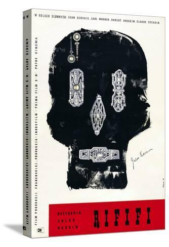 Rififi, Polish Poster Art, 1955--Stretched Canvas Print