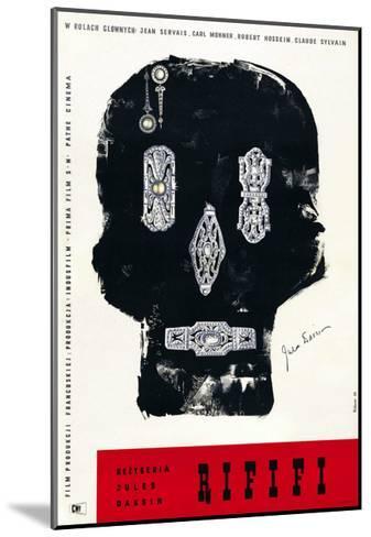 Rififi, Polish Poster Art, 1955--Mounted Giclee Print