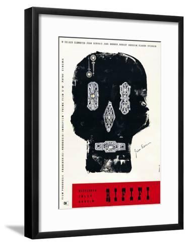 Rififi, Polish Poster Art, 1955--Framed Art Print